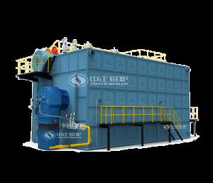 吉安SZS系列燃油(气)冷凝蒸汽锅炉